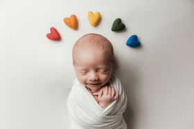 Rainbow Baby Photography in Austin TX