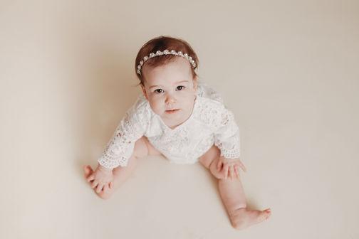 Baby milestone photography austin tx