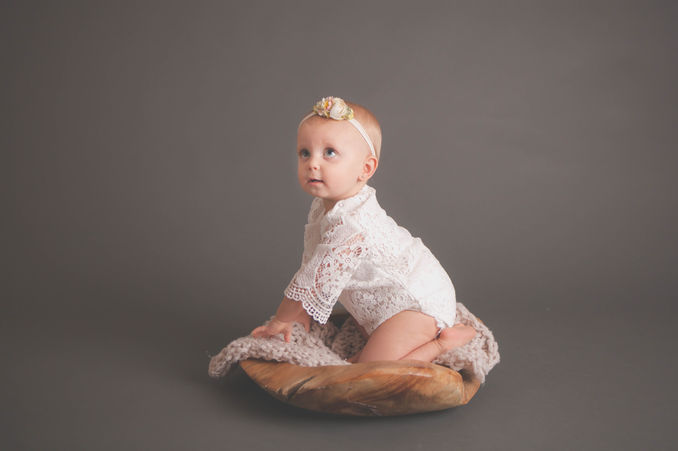 baby girl photo session austin tx