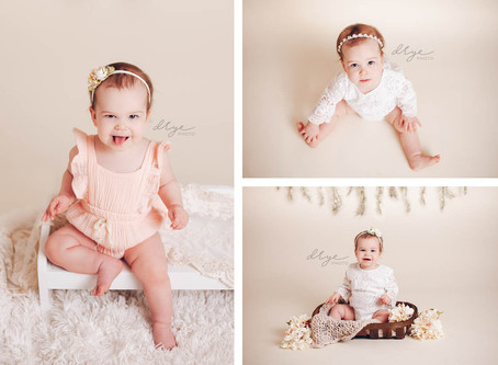 Leander, Cedar Park, Austin Child Photographer  |  Addie is One!