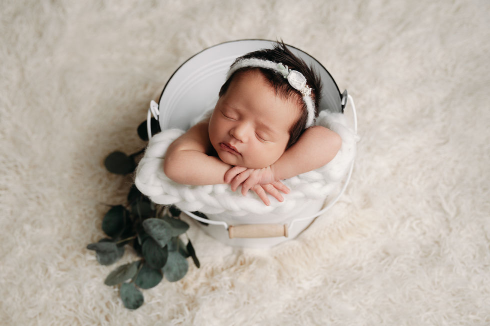 Hutto TX newborn session