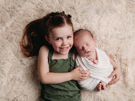 Austin, TX In-Home Newborn Session | Baby Hughes
