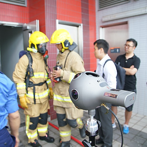 Fireman's Story 360VR Making Of