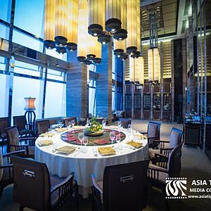 香港麗思卡爾頓酒店天龍軒室內拍攝