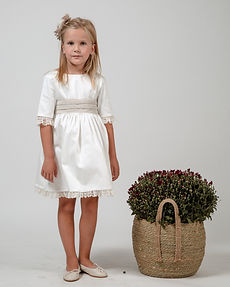 Juliet-flower-girl-dress-short-white-bow