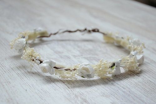 Sophie Flower Band With Small White Flowers