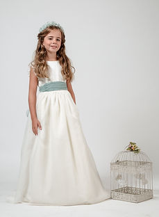 First-communion-long-white-dress