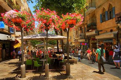 Jerusalem, City Center. Photo taken by N