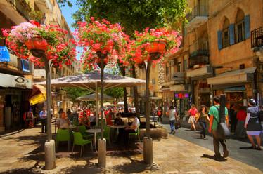 Jerusalem, City Center. Photo taken by Noam Chen for the Israeli Ministry of Tourism