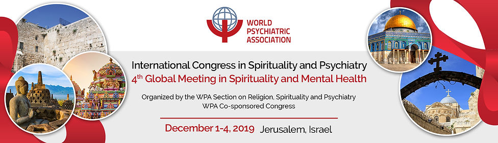 International Congress on Spirituality and Psychiatry. Also known as the 4th Global Meeting in Spirituality and Mental Health