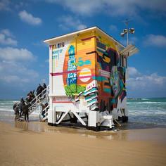 Tel Aviv Lifeguard Tower