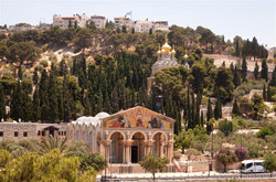 Churches on the Mount of Olives (Noam Ch