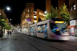 Light Railway By Night- Jerusalem