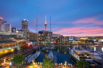 Sunset at Viaduct Harbour_78089.jpg
