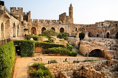 The Tower of David, Archaeological Site