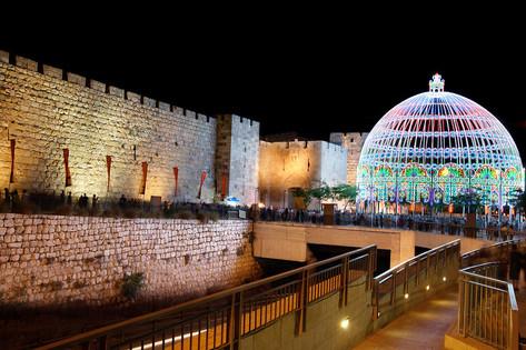 Jerusalem Festival of Light Old City