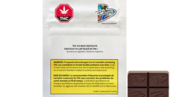 BHANG - THC Ice Milk Chocolate [1x10G]