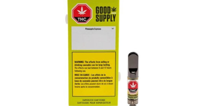 GOOD SUPPLY PINEAPPLE EXPRESS VAPE CARTRIDGE