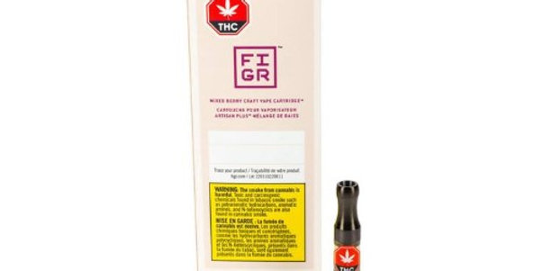 FIGR CRAFT MIXED BERRY VAPE CARTRIDGE 0.5 Gram