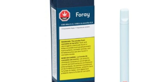 FORAY CBD MANGO HAZE DISPOSABLE
