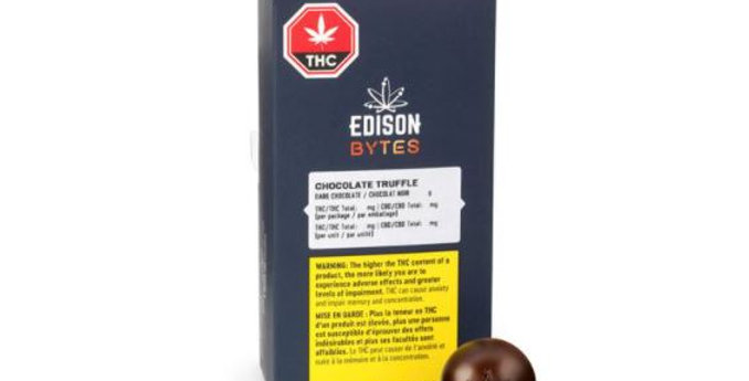 EDISON BYTES DARK CHOCOLATE TRUFFLE