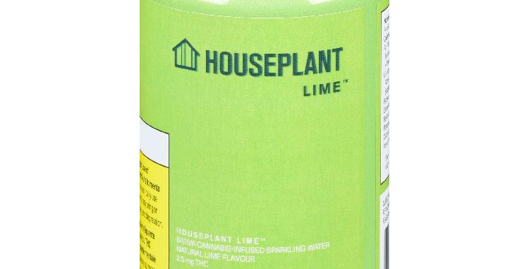 HOUSEPLANT - Lime Sparkling Beverage