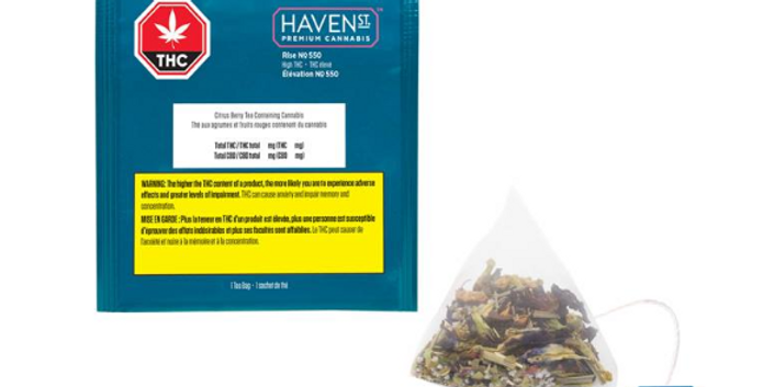HAVEN ST.  RISE TEA
