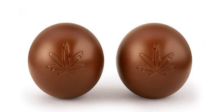 EDISON BYTES MILK CHOCOLATE TRUFFLES DUO PACK 2 X 5MG THC