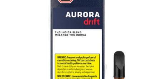 AURORA DRIFT INDICA BLEND VAPE CARTRIDGE