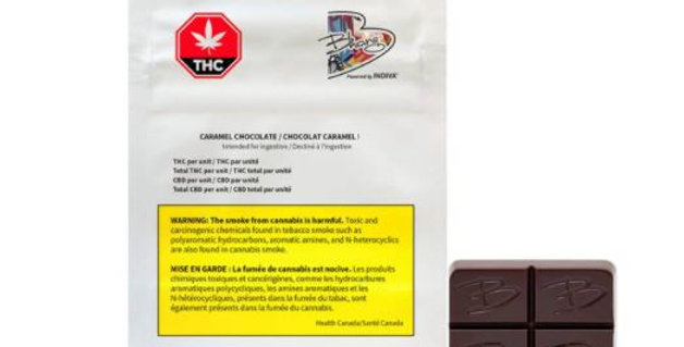 BHANG 1:1 CARAMEL CHOCOLATE