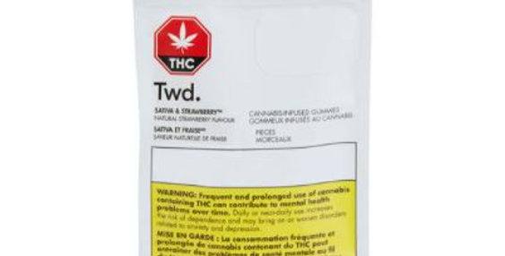 TWD. SATIVA AND STRAWBERRY SOFT CHEWS [17.5G]