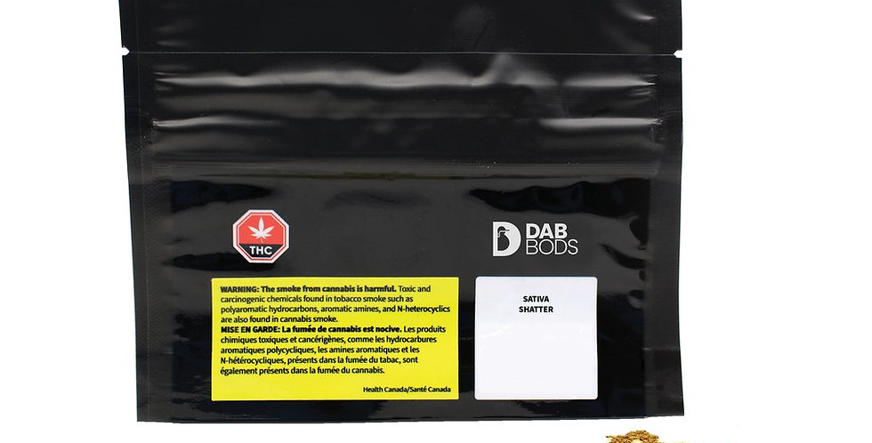 DAB BODS - Sativa Shatter [0.5g]