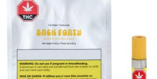 BACK FORTY - Super Lemon Haze Vape Cartridge [0.45G]