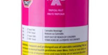 XMG TROPICAL FRUIT SPARKLING BEVERAGE