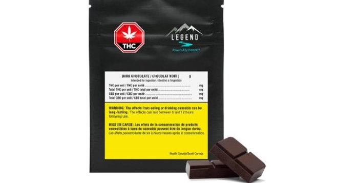 LEGEND - THC Dark Chocolate