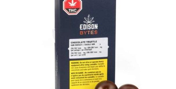 EDISON BYTES DARK CHOCOLATE TRUFFLES DUO PACK
