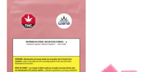 WANA WATERMELON HYBRID SOUR SOFT CHEWS