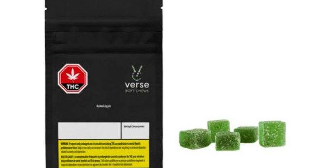 VERSE - Baked Apple Soft Chews [5x3.2G]