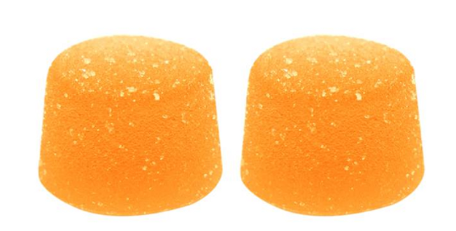 FORAY PEACH MANGO SOFT CHEWS 2 X 5MG THC/CBD