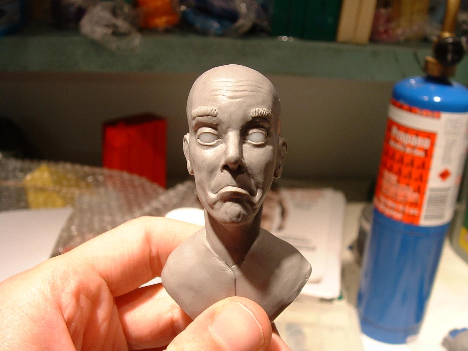Portrait Sculpture of Client