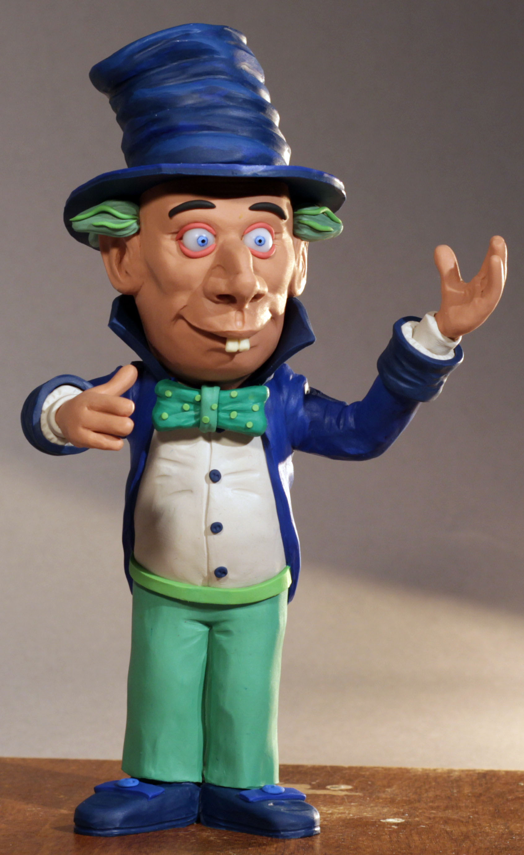 Mad Hatter (Clay Puppet)