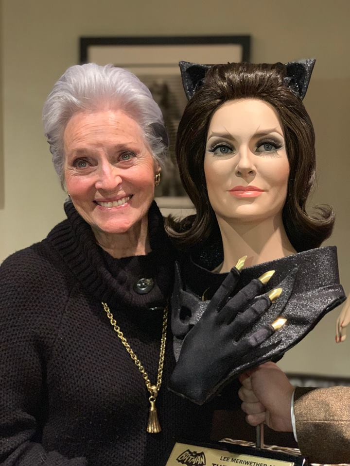 Lee Meriwether with Sculpt