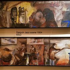 Diptych Jazz Scene