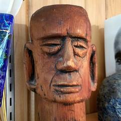 Redwood carving