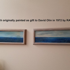 Sea view diptych