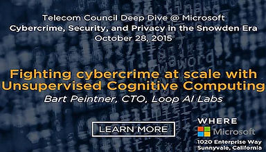 Telecom Council Deep Dive @ Microsoft: Cyber Crime, Security, and Privacy in the Snowden Era
