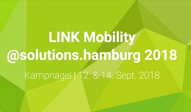 LINK Mobility @solutions.hamburg 2018