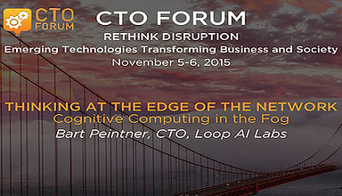 CTO FORUM: Rethink Disruption, Emerging Technologies Transforming Business and Society