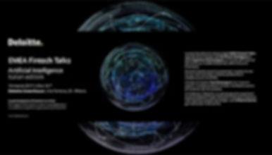 EMEA Deloitte Fintech Talks - Artificial Intelligence