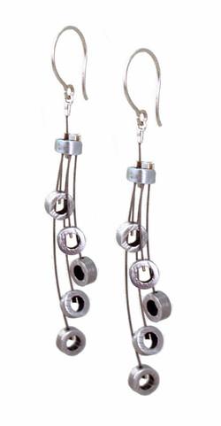 Jellyfish- Five Bubble Earrings